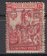 ITALIË - Michel - 1928 - Nr 289 B - Gest/Obl/Us - Usati