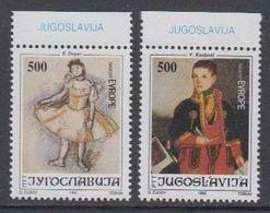 Yugoslavia 1992 Joy Of Europe 2v (+margin) ** Mnh (43392A) - Europese Gedachte