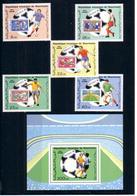 Soccer World Cup 1986 - MAURITANIE - S/S+Set MNH** - 1986 – Mexiko
