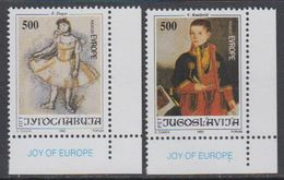 Yugoslavia 1992 Joy Of Europe 2v (corners) ** Mnh (43392B) - Europese Gedachte