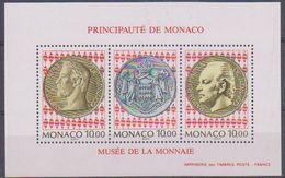 Monaco 1994 Musée De La Monnaie M/s ** Mnh (43393) - Blokken