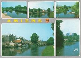 80 Amiens Les Hortillonnages Divers Aspects (2 Scans) - Amiens