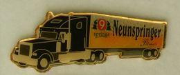 N369 Pin's Bière Bier Beer Camion Truck NEUNSPRINGER SPRINGE PILSNER  60 Mm  Qualité Top - Bière