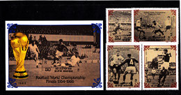Soccer World Cup 1986 - NORTH KOREA - S/S+Set MNH** - World Cup