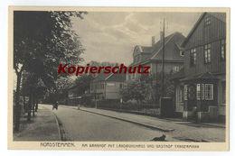 Nordstemmen Am Bahnhof Mit Landbundhaus Gasthof Tangermann Hildesheim - Hildesheim