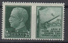 ITALIË - Michel - 1942 - Nr 304 P2 - MH* - Propaganda Di Guerra