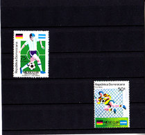 Soccer World Cup 1986 - DOMINICA - SetSet MNH** - World Cup
