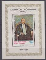 Northern Cyprus 1981 Ataturk M/s ** Mnh (43397) - Cyprus (Turkije)