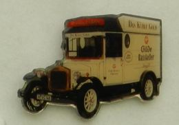 N374 Pin's Bière Bier Beer Camion Truck GILDE RATSKELLER 40 Mm Hannover Pilsner Qualité Top - Bière