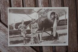 CPA - Nos Aviateurs - Lieutenant Rondeau / Verhaegen - Aviateurs