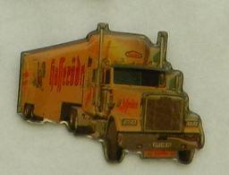 N376 Pin's Bière Bier Beer Camion Truck HAFF ??? 38 Mm  Qualité Top - Beer