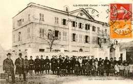 ILE ROUSSE  =  Institution Jeanne D'Arc    819 - France