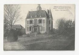 """22 PLELO - Châteaux Et Manoirs De Bretagne - La Villa """"ker Raoult"""" - Cpa Côtes D'armor - Autres Communes"""