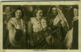 ALBANIA - COSTUMI ALBANESI - EDIZIONE CASTRIOTA - 1939 (BG3682) - Albania