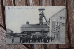CPA - Gilly - Charbonnage Du Trieu-Kaisin - Sortie Des Mineurs - Charleroi