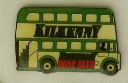 N358 Pin's Bière Bier Beer BUS CAR AUTOBUS KILKENNY IRISH 38 Mm  Qualité Top - Bière