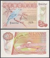 SURINAM - SURINAME 2 1/2 Gulden 1985 UNC (1) Pick 119    (23928 - Banknotes