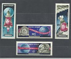 MONGOLIA YVERT  193/96     MNH  ** - Mongolia