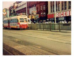 35mm ORIGINAL PHOTO LEICESTER TRAM - F002 - Trains