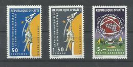 HAITI  YVERT AEREO   298/300   MNH  ** - Haiti