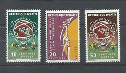 HAITI  YVERT  526/28   MNH  ** - Haití