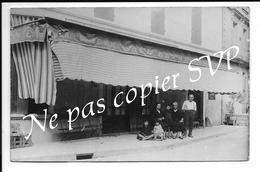 Carte Photo - PORT De PENNE 47 ( PENNE D'AGENAIS ) - Place De L'église - Café Hotel BETOLIERES - France