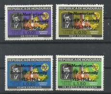 HONDURAS  YVERT AEREO  417/20     MNH  ** - Honduras