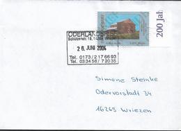 2004 Deutschland Oberlandbrief   FDC 200 Jahre Vorwerk Bärwinkel 1803-2003 - Private & Local Mails