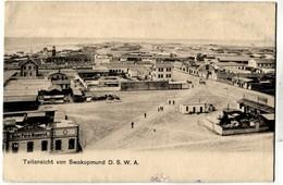 Namibia German South West Africa Swakopmund Tellansicht - Namibie
