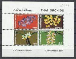 TAILANDIA YVERT  H/B  5     MNH  ** - Tailandia