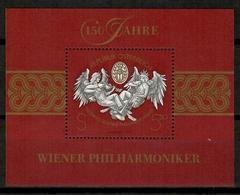 Austria 1992 / Music Vienna Philharmonic  MNH Musik Filarmonica De Viena Música / Ki31  5-5 - Música