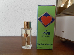 ACHAT IMMEDIAT;;;;MINIATURE IN LOVE AGAIN  - YVES SAINT-LAURENT - 10 ML EAU DE TOILETTE - Miniatures Modernes (à Partir De 1961)