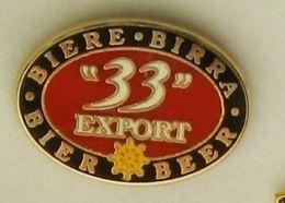 N306 Pin's Bière Bier Beer 33 Qualité Zamac Achat Immediat - Bière