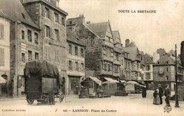 LANNION PLACE DU CENTRE Marché Marché - Mercado - Market - Mercati - Mercadillo - Lannion