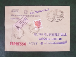 41734 STORIA POSTALE ITALIA 1977 - 6. 1946-.. Repubblica