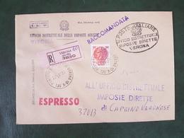 41735 STORIA POSTALE ITALIA 1977 - 6. 1946-.. Repubblica
