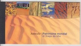 = Carnet Australie Patrimoine Mondial Et Temps Du Rêve C381 état Neuf, Nations Unies Genève - Carnets