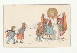 CARTOLINA Post Card - Vintage - Religiosa - NOVA N° 107 - N.G. BASEVI 1939 - Santi