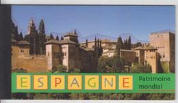 = Carnet Espagne Patrimoine Mondial Grenade Cuenca Ségovie Mérida Toléde Barcelone C417 état Neuf Nations Unies Genève - Carnets