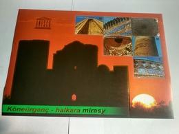 Postage Stamps Of Turkmenistan. Historical Monuments To UNESCO - Turkmenistan