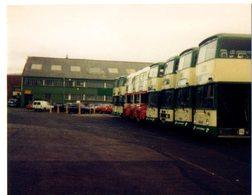 35mm ORIGINAL PHOTO ENGLAND BUS OMNIBUS STATION  - F988 - Photographs