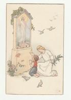 CARTOLINA Post Card - Vintage - Religiosa - NOVA N° 49 Cromo N. B. - Santi