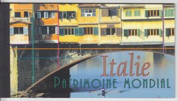 = Carnet Italie Patrimoine Mondial Amalfi Rome Florence Pise Pompéi Îles Eoliennes C463 état Neuf Nations Unies Genève - Carnets