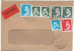 GIJON ASTURIAS CC URGENTE SELLOS BASICA - 1931-Hoy: 2ª República - ... Juan Carlos I
