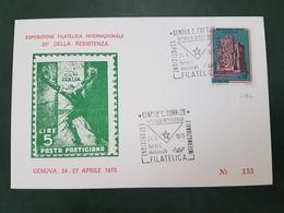 41758 STORIA POSTALE ITALIA 1975 - 6. 1946-.. Repubblica