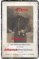 Oorlog Guerre Frans Schaerlaekens Heffen Soldaat Vestingsartillerie Gesneuveld  Na Gevangenschap Antwerpen 1919 - Andachtsbilder