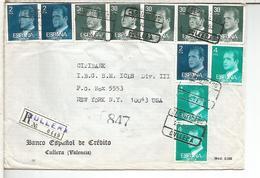 CULLERA VALENCIA CC CERTIFICADA SELLOS BASICA JUAN CARLOS I - 1931-Hoy: 2ª República - ... Juan Carlos I