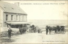 ( CHERBOURG )( 50 MANCHE ) ( LENDEMER )( URVILLE   NACQUEVILLE )  HOTEL VOISIN LA PLAGE - France