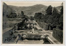 VALSANZIBIO (COLLI EUGANEI)  VILLA  BARBARIGO   PROSPETTO  DELLE  PISCINE E PARTE  DEL  LABIRINTO              (NUOVA) - Italia