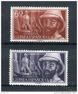 Guinea Española 1955. Edifil 342-43 ** MNH. - Guinea Española